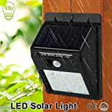 Seven Moon IP65 Waterproof Solar Powered 25 LED Motion Sensor Street Lights
