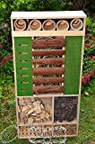 Insect Hotel 48 cm, XXL, Front Green Weather...