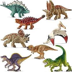 Schleich Mini Dinosaurios - 14532 a 14539 (8 partes)