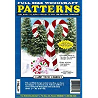 Giant yard Candies Woodcraft pattern by Winfield Collection
