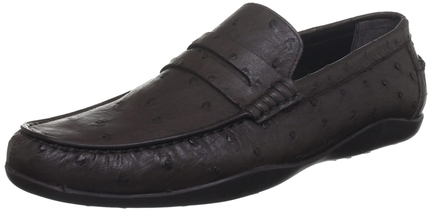 ef212cce563 Harrys of London Men s Basel Dark Brown Loafers 9 UK  Amazon.co.uk  Shoes    Bags