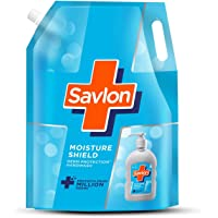 Savlon Moisture Shield Germ Protection Liquid Handwash Refill Pouch, 1500ml