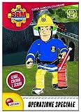 Sam il pompiere. Albo da colorare