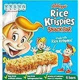 Rice Krispies de Kellogg Snack Barres (de 6x20g) - Paquet de 6