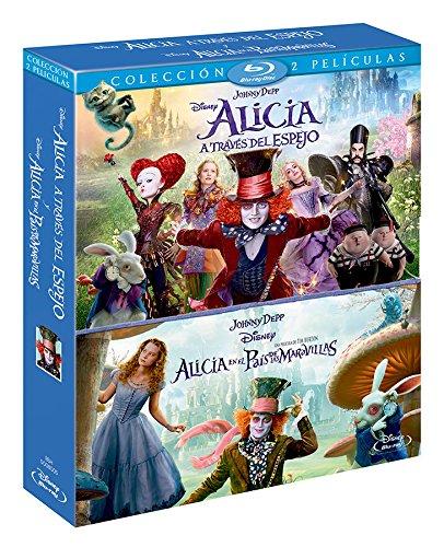 Duopack: Alicia A Través Del Espejo Y Alicia En El País De Las Maravillas [Blu-ray]