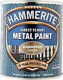 Hammerite Metallfarbe Hammered Copper 750ml
