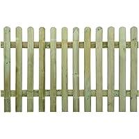 blanc 5 cm GEZICHTA Cl/ôture de jardin /à montre le moindre d/étail D/écorations en bois pour cl/ôture pour maison jardin DIY Accessoires D/écor