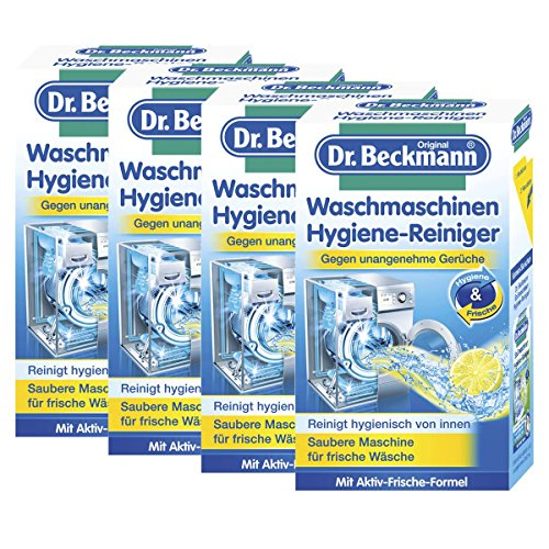 4x Dr. Beckmann Waschmaschinen Hygiene Reiniger 250g - Saubere Maschine für frische Wäsche