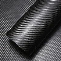 LJO Flexible 3D Sarga-Tejer Carbono Fibra Vinilo Película Wrap Rollos Pegatina Para Vehículo De