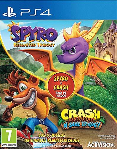 Spyro Reignited Trilogy + Crash N  Sane Bundle