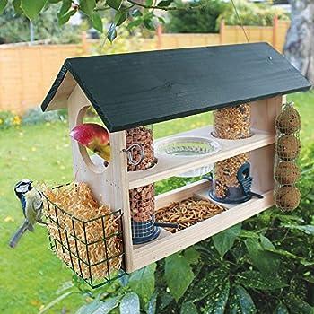 Bird Feeding Variety Station: Amazon.co.uk: Garden & Outdoors