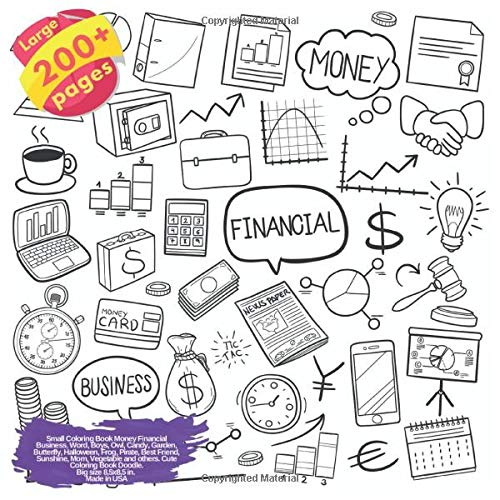 Money Financial Business, Word, Boys, Owl, Candy, Garden, Butterfly, Halloween, Frog, Pirate, Best Friend, Sunshine, Mom, ... Business and others Doodle Book, Band 1) ()