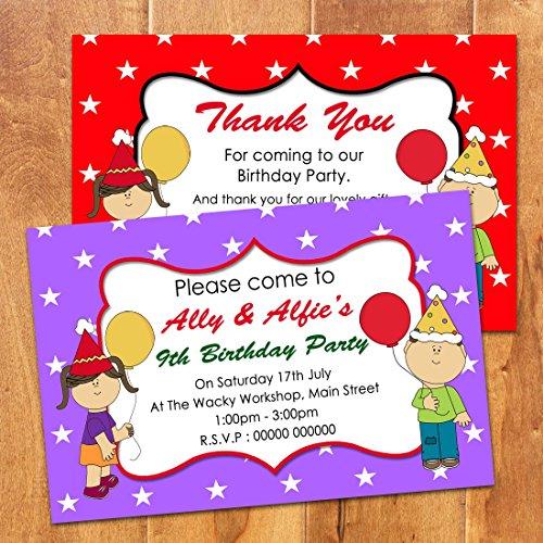 Personalised Party Invitations Amazoncouk – Personalised Party Invites Uk