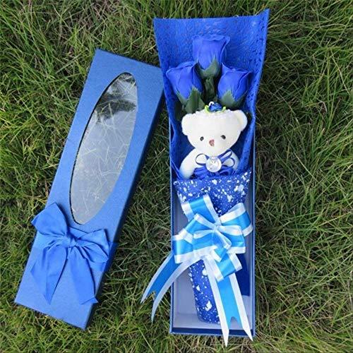 Confezione regalo di peluche catoon ripieno di peluche Simpatico giocattolo di peluche Bambola con personale bello Migliore regalo per bambini Giocattolo Regali di San Valentino di Natale Prugna