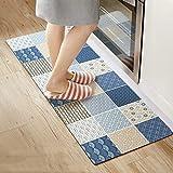 LQB Teppich-Lange Küchen-Matten/Anti-Skid Pads Wasserdicht und Anti-Öl feuerfeste Matten Stripes Matten,120 * 45 * 0,4 cm