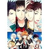 Poster Hinata Shoyo Kageyama Tobio Poster Manga Anime Manga Scroll Painting Decorazione da parete, 30 x 42 cm (H13)
