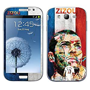 Bluegape Samsung Galaxy Grand Duos I9082 Zinadaine Zidane Football Player Mobile Skin Cover, Multicolor