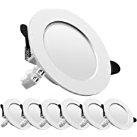LED spot encastré, extra plat, encastré lampe plafonnier plat rond,7W 700lumen equivalent 70W incandescence, AC175-265V…