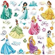 RoomMates RMK2199SCS - Pegatinas de pared, diseño Princesas Disney Debutantes