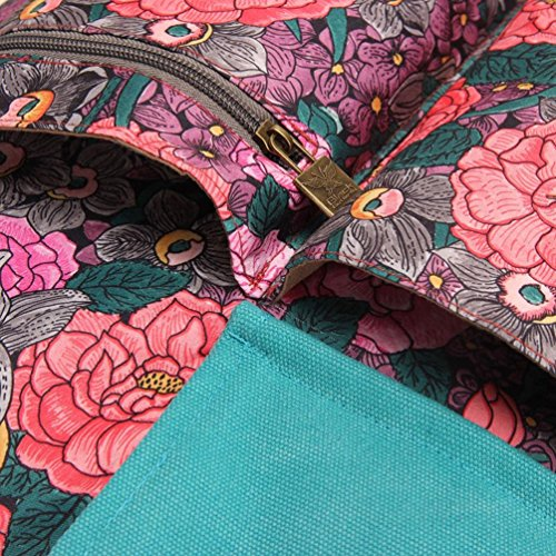 Chang Spent retro sacchetto di spalla di tela di modo della borsa big bag delle donne , b b