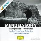 Mendelssohn: 5 Symphonies; 7 Overtures (4 CD's)