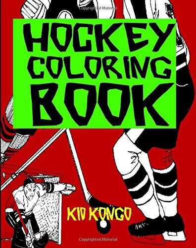 Hockey Coloring Book por Kid Kongo