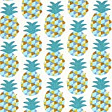 Fabulous Fabrics Cretonne Mini Ananas 2 – türkis —