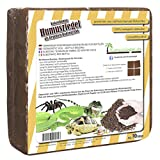 Humusziegel - Kokoseinstreu Bodensubstrat für Reptilien - Terrariensubstrat 70 L