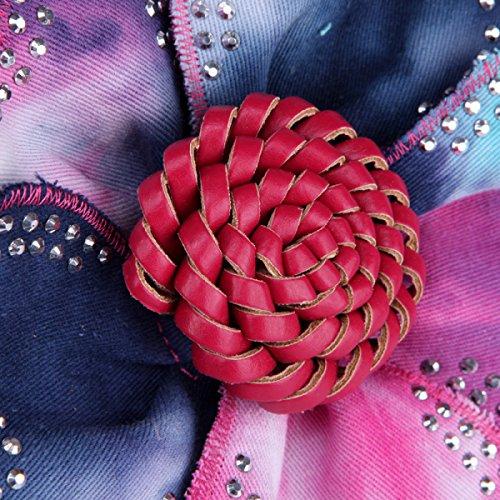 FZHLY Damen Handtasche Blume Hand Diagonal Paket Gold