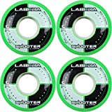 Labeda Rollen Inline Roller Hockey Shooter All Purpose grün 59mm 83A X4