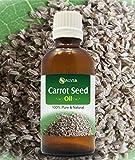Huile de graines de carotte 100% naturel Pure pur non coupée aux Huiles Essentielles 30ml