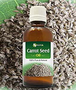 CARROT SEED OIL 100% NATURAL PURE UNDILUTED UNCUT ESSENTIAL OILS 100ml