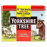 Taylor of Harrogate Yorkshire Tea-Yorkshire di Gruffalo Edizione limitata & Woodland Trust-Scatola in latta porta bustine da tè, Set & 80