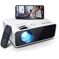 Allyoung Mini projecteur à LED WiFi 5000 lumens Prise en Charge 1080p Full HD, 720P Native Vidéoprojecteur Compatible…