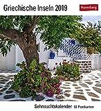 Griechische Inseln - Kalender 2019: Sehnsuchtskalender, 53 Postkarten -