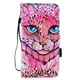 Custodia iPhone 7 Plus/ iPhone 8 Plus Cover ,COZY HUT Flip Caso in Pelle Premium Portafoglio Custodia per iPhone 7 Plus/ iPhone 8 Plus, Retro Animali di cartone animato Modello Design Con Cinturino da Polso Magnetico Snap-on Book style Internamente Silicone TPU Custodie Case in pelle Protettiva Flip Cover per iPhone 7 Plus/ iPhone 8 Plus - Kirin