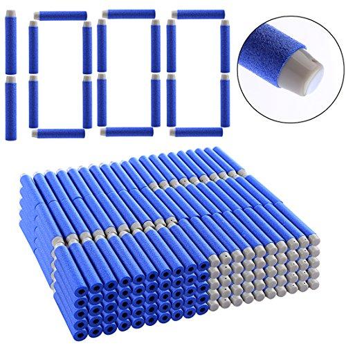 LoKauf 7.2*1.3cm 1000pcs Dardos Darts para Nerf Stryfe/Nerf Retaliator/Nerf Rapidstrike/Nerf Modulus/Nerf Zombie