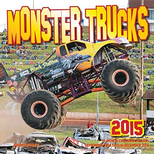 Monster Trucks Calendar (Calendars 2015) (Monster-truck-kalender)