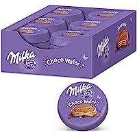 Milka Choco Wafer 30 x 30g, Waffel mit Kakaocreme Füllung umhüllt von Alpenmilch Schokolade