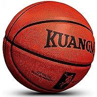 CN Basketball Indoor and Outdoor Wear competición estándar Basketball Seventh Ball,marrón,Numero 7