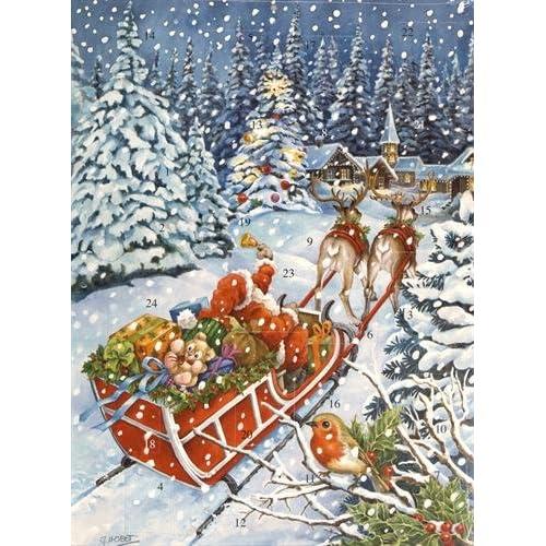 Calendrier de l'Avent : Le traineau du Père Noël