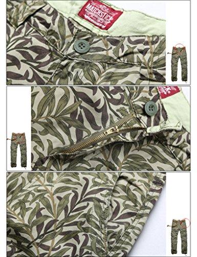 Match Pantalons Cargo pour Hommes #6531 6531 Grass max