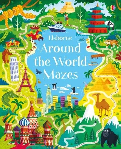 Around the world mazes. Ediz. a colori por Sam Smith