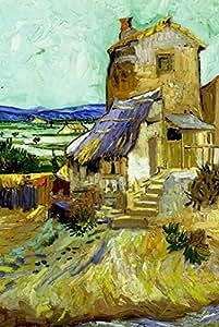 Puzzle 100 pièces - Vincent Van Gogh : Le Vieux Moulin, 1888