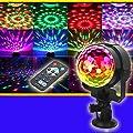 Hunpta Disco Lights, 80 LEDs RGB Remote Stage Light Lighting Bar Party Disco DJ Light Effect Voice-Activated