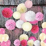 Wartoon Seidenpapier Pompons Blumen Ball