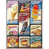 Nostalgic-Art 83069 USA American Diner, Magnet-Set, 9-teilig