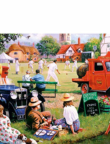 Village Green 4 x 1000 Stück Puzzle
