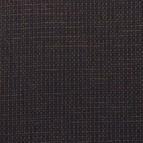 Chenille Kinder-stühle (grob gewebter Bezugs-Stoff Diablo Chenille Struktur Polster Möbelstoff Web-Stoff Melange Premium Gewebe Dark Brown)