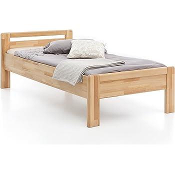 Woodlive Massivholz Bett Aus Kernbuche Als Seniorenbett Geeignet